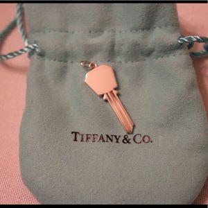 7e62fcf81 Tiffany & Co. Jewelry - Tiffany and co modern keys hexagon key pendant